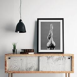Photography Dancer Framed Print