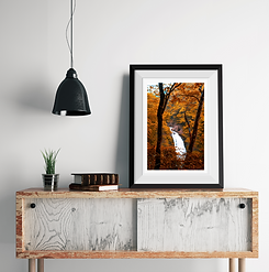 Framed Print Waterfall.png