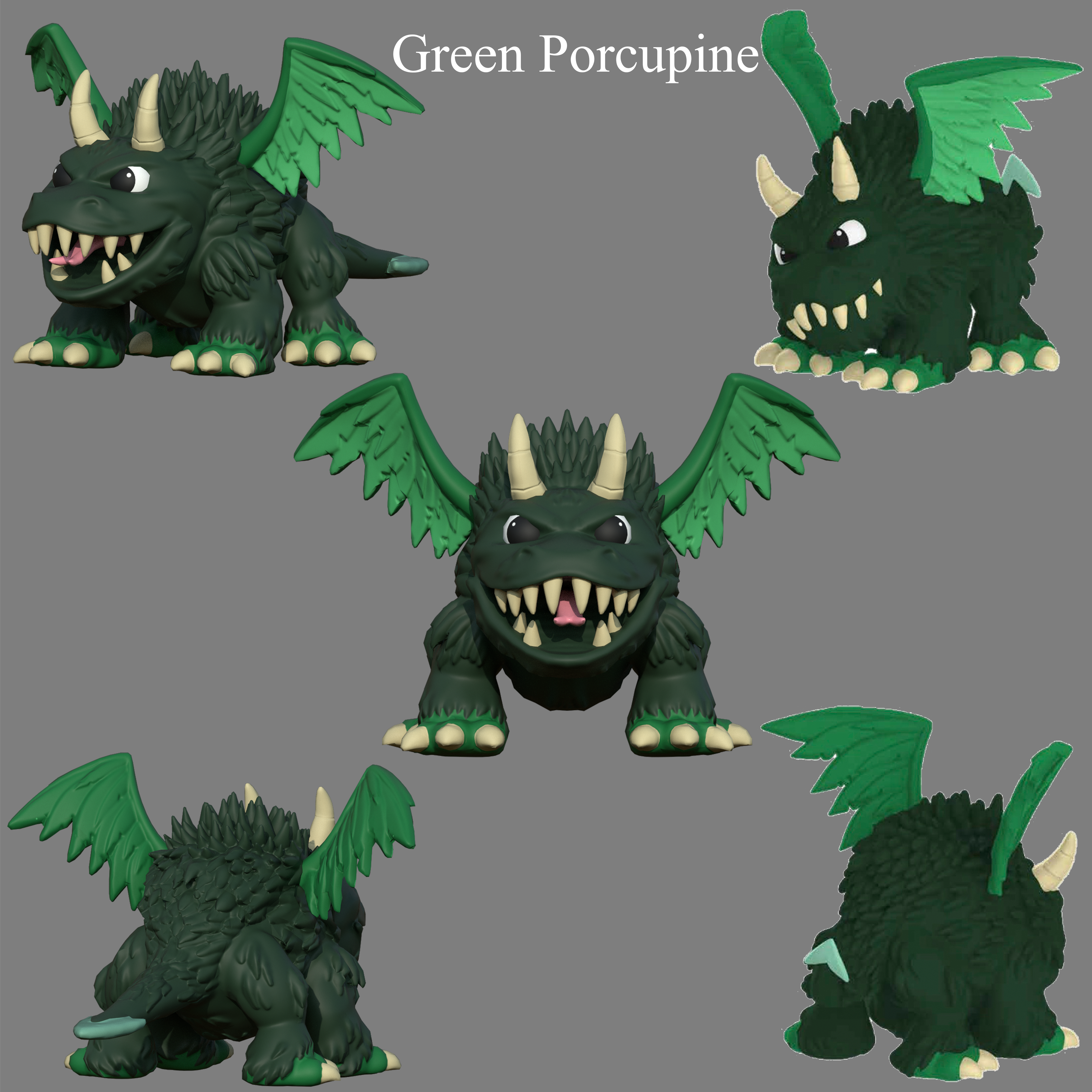 Green Porcupine