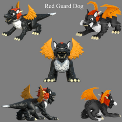 Red Guard Dog