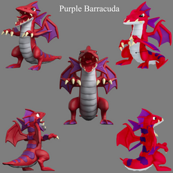 Purple Barracuda