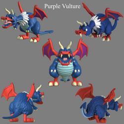 Purple Vulture