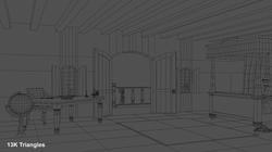 Kings Room Wireframe