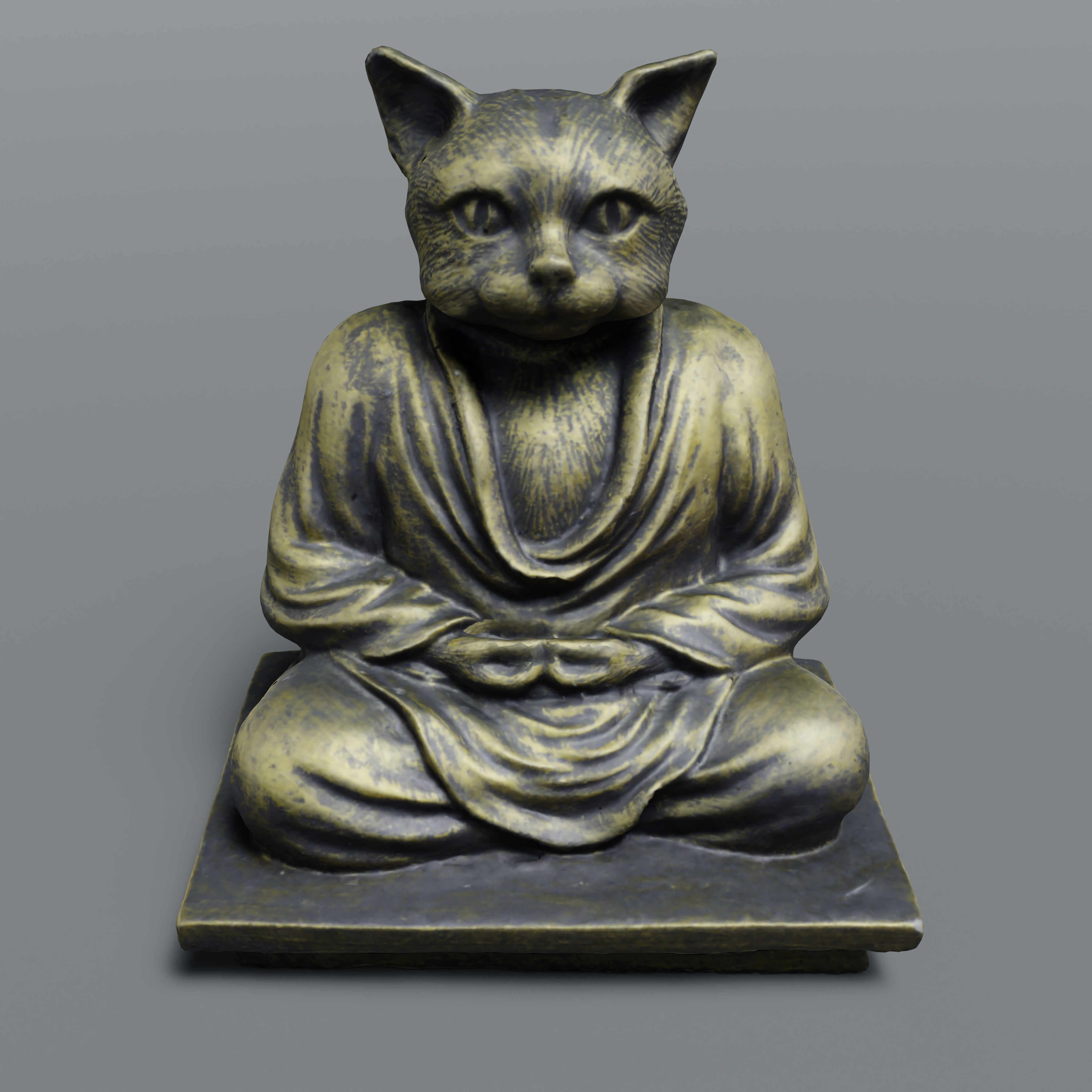 Buddah Cat