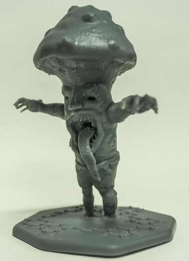3D Print - Evil Mushroom
