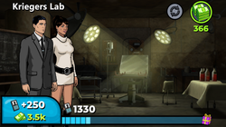 Kriegers Lab In Game
