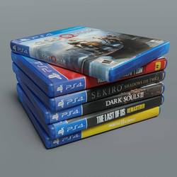 PS4 Game Stack