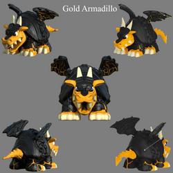 Gold Armadillo