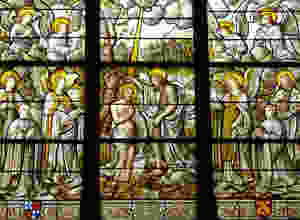 Jesus Christ's Baptism is attended by the Holy Spirit, as is the casre for each of us.