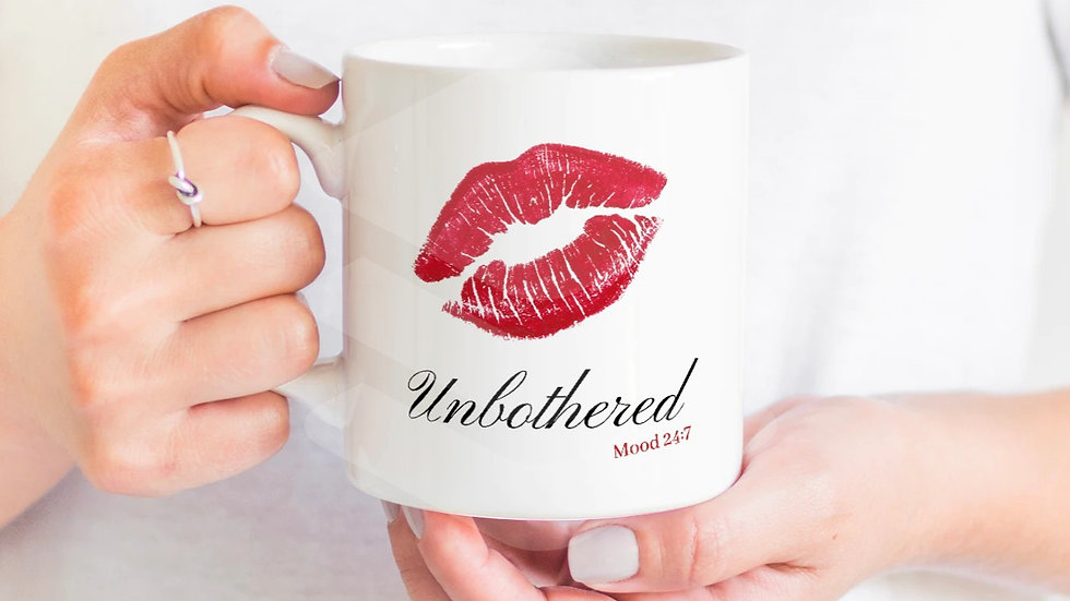 Unbothered 24:7 Coffee Mug- 11oz