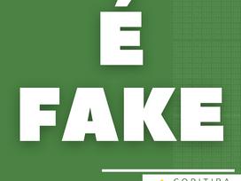 É fake!