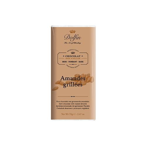 CHOCOLAT NOIR AMANDES GRILLÉES