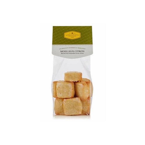 MOELLEUX CITRON Biscuit aux amandes et au citron
