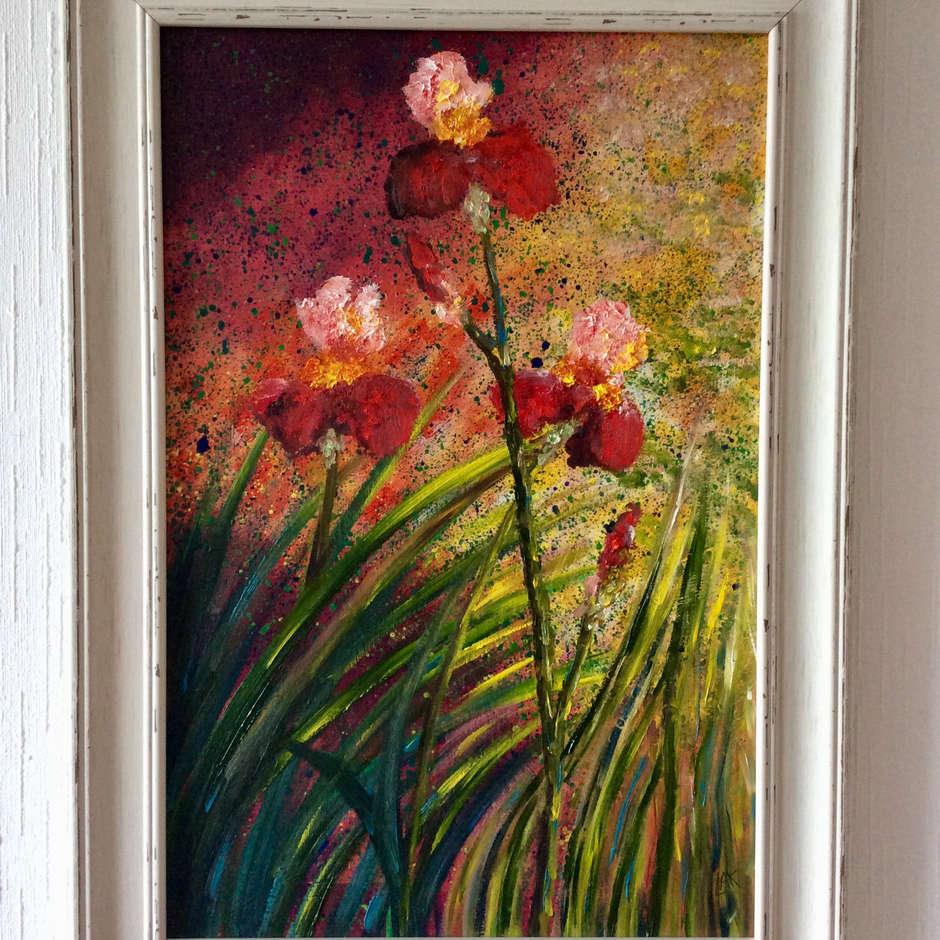 'Red Heads' Lesley Ann Kirkman