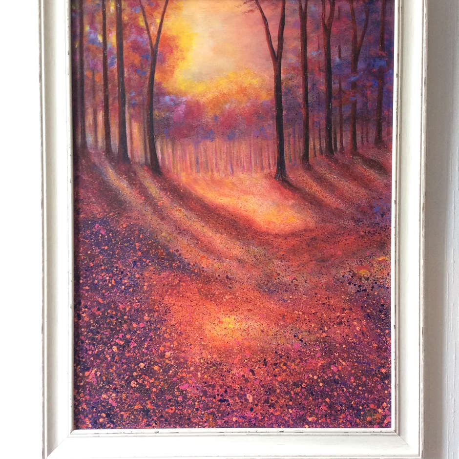 'Shadows at Dusk' Lesley Ann Kirkman