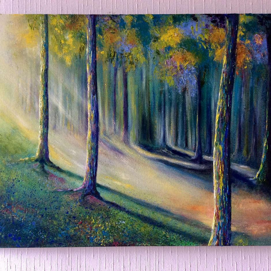 'A Ray of Sunshine' Lesley Ann Kirkman