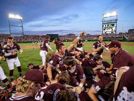 MISSISSIPPI STATE WINS THE 2021 COLLEGE WORLD SERIES
