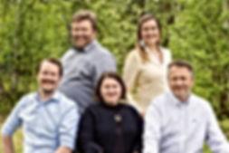 Teamet til Sápmi Næringshage