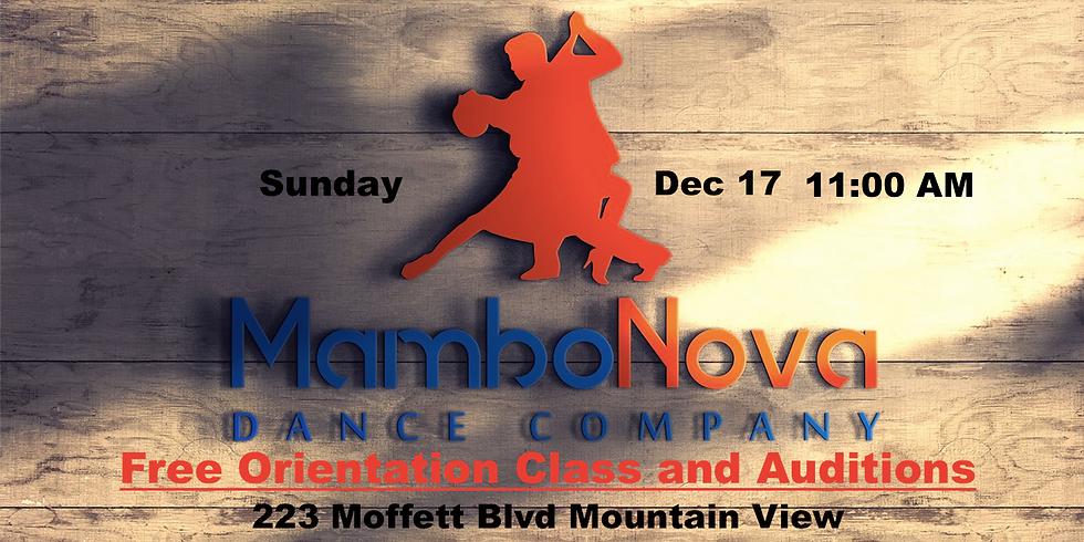 Mambonova Free Orientation Class and Try-Outs