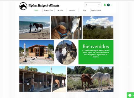 Club Hípico Maigmó inaugura nueva web