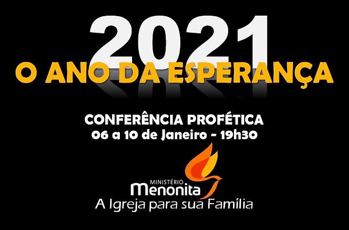 O ANO DA ESPERANÇA 2021