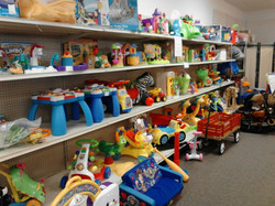 One-third of our toy selection!