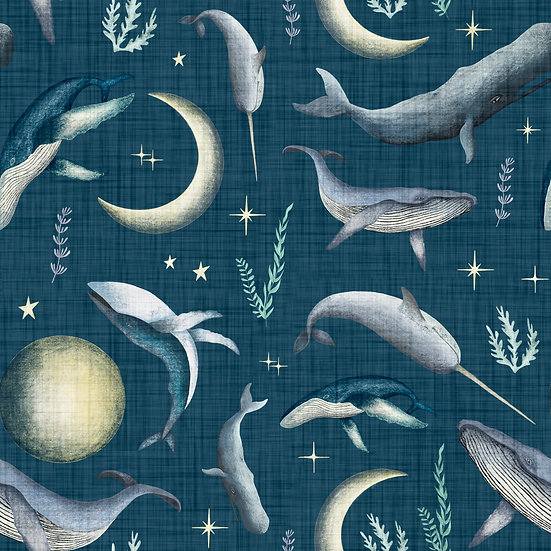 Sweatshirt - (Luna Whale Song)