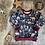 Thumbnail: Sweatshirt - (Woodland Wonderland/WINE)