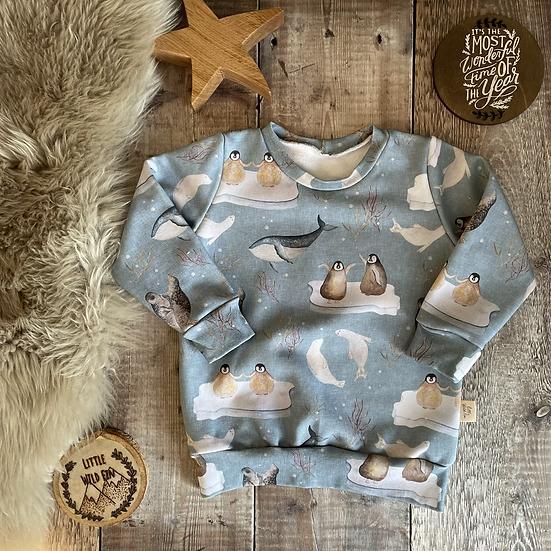 Sweatshirt - (Antartica/MATCHING)