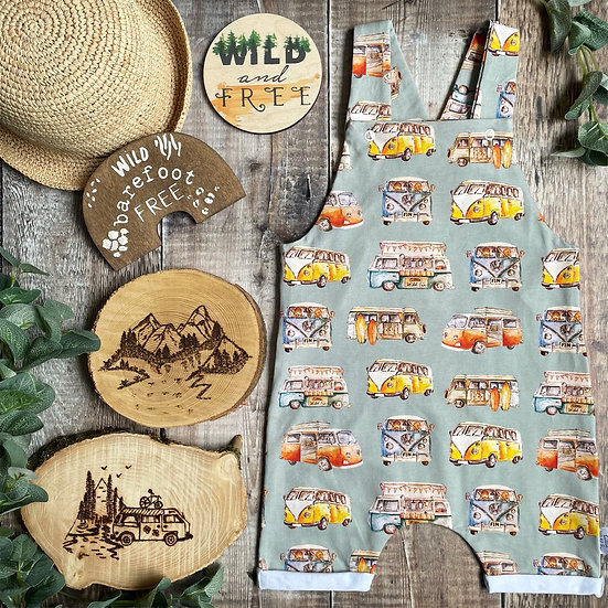Short Dungarees (Little Wild Campers)