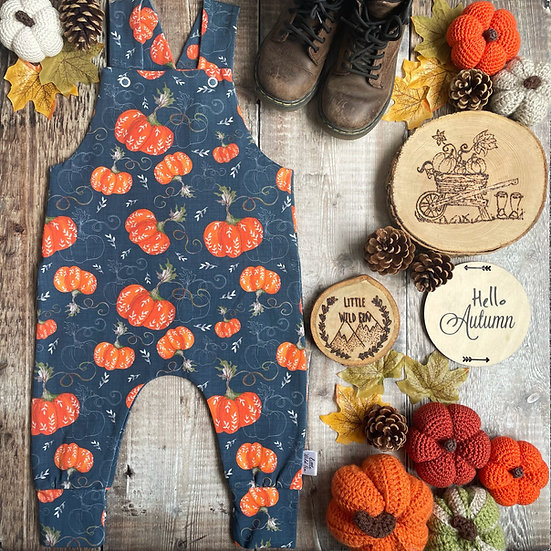 Dungarees - (Pumpkin Patch)