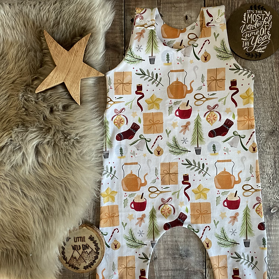 IMPERFECT Romper - (Christmas Hygge)