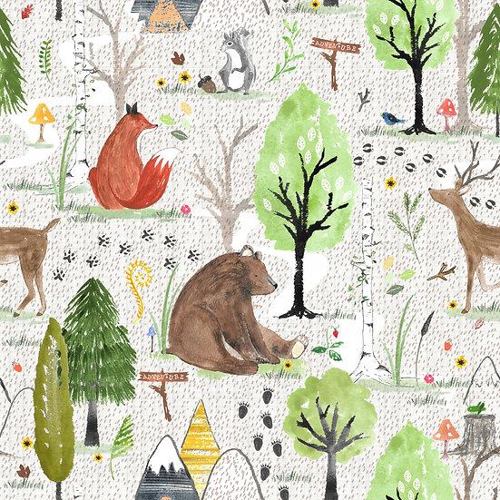 Duvet Cover - (Bear Hunt)