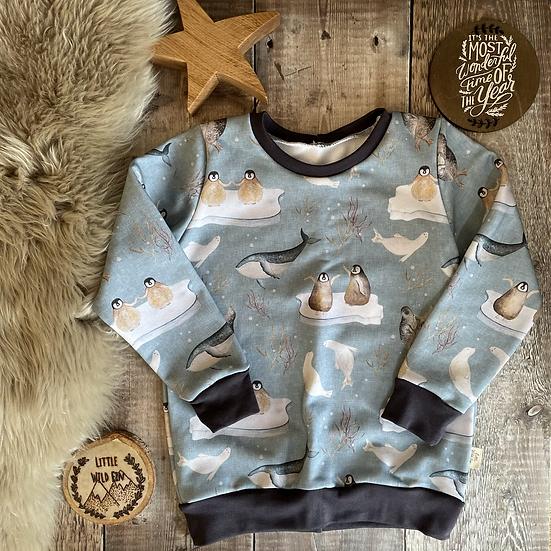 Sweatshirt - (Antartica/GREY)