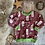 Thumbnail: Sweatshirt - (Winter Wishes/GREEN)