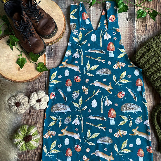 Dungarees - (Foraging Friends)