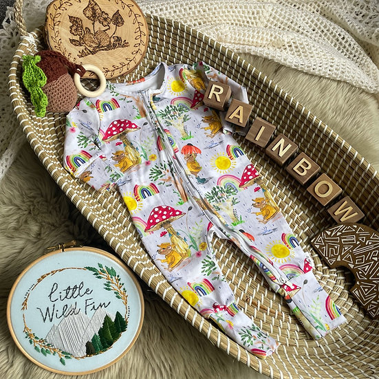 Zipped Sleepsuit - (After The Storm)