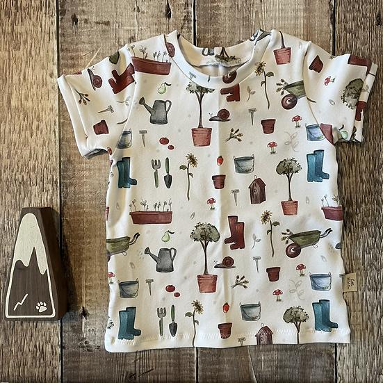 Short Sleeve T-Shirt - (Into The Garden)