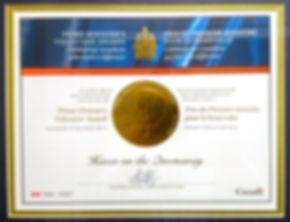 Haven Prime Minister Award.jpg