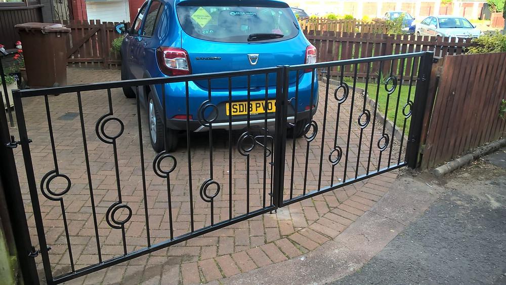 Metal Driveway Gates Uddingston