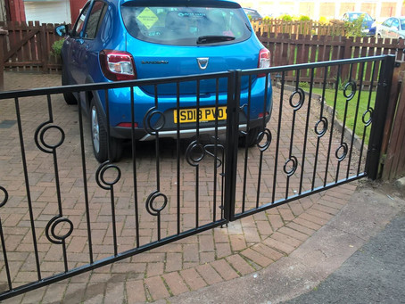New Driveway Gates In Uddingston
