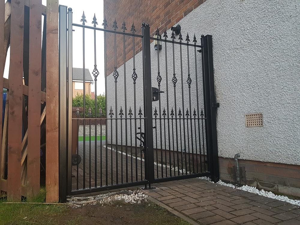 wrought iron security gates scotland