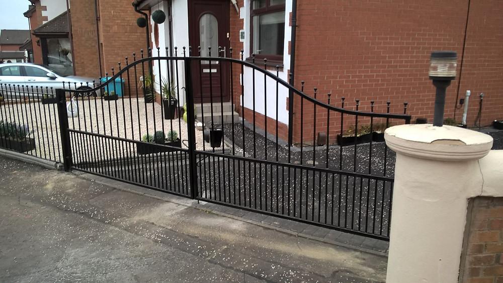 Automatic driveway gates Paisley