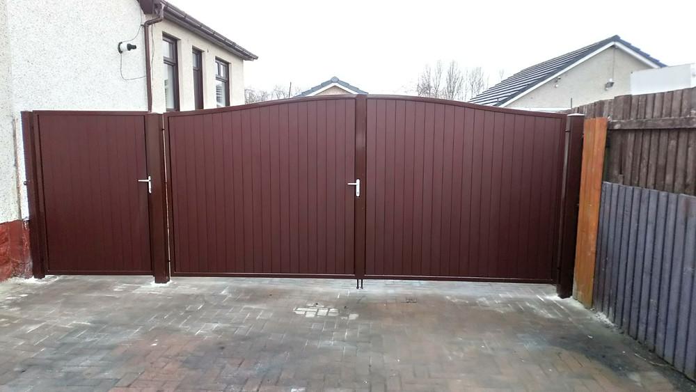 Electric Aluminium Gates Glasgow