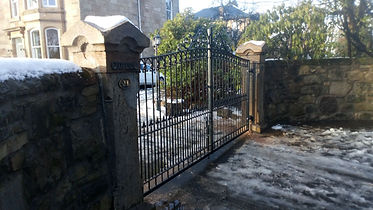 Electric gates Glasgow
