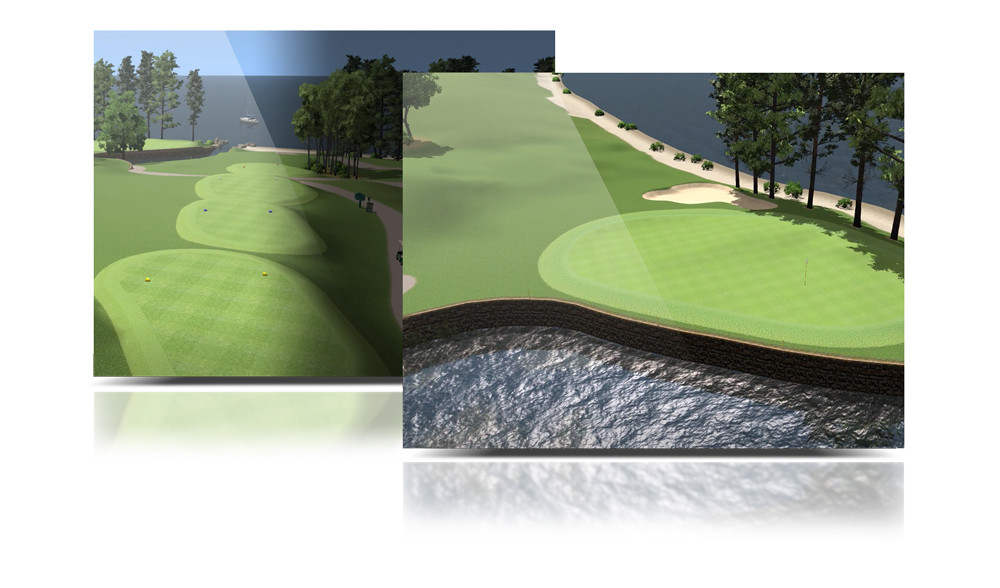 Virtual Golf Competition