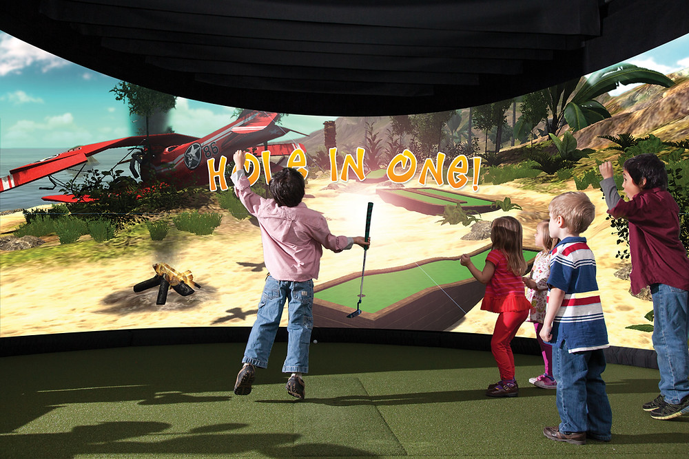 aboutGOLF simulators