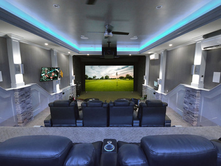 Want to Sell the Family on a Golf Simulator?