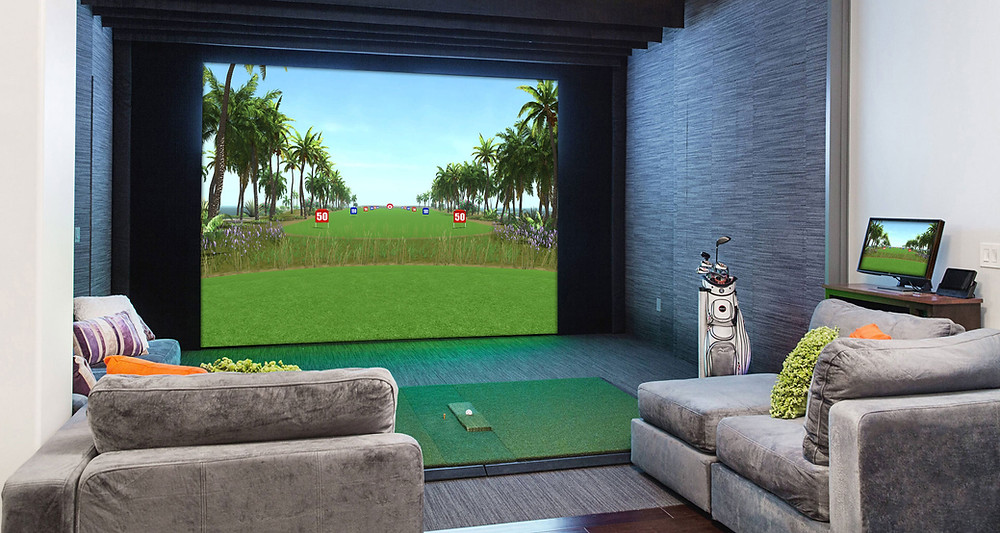 best indoor golf simulator