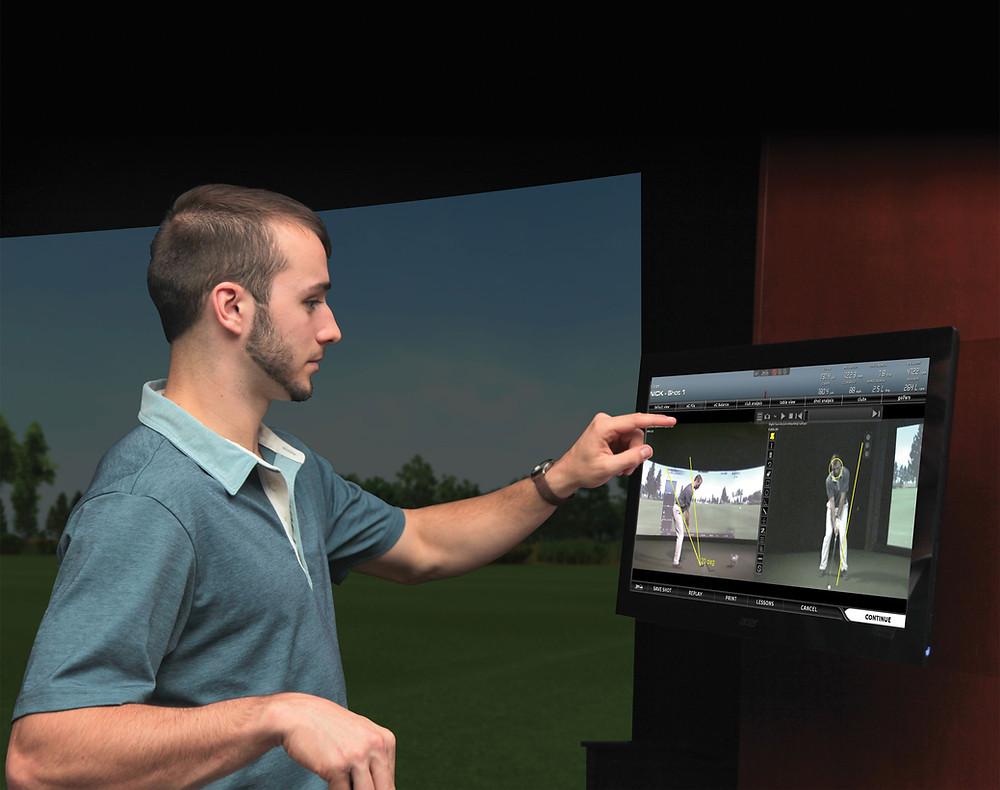 Mini Indoor Golf Simulator